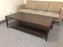 used coffee tables coffee tables remarkable light brown rectangle