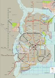 City Maps Gotham City Map