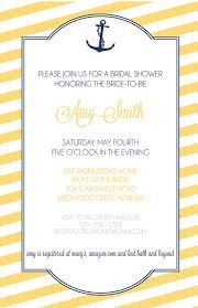 Nautical Bridal Shower Invitations Aliya Rinaldi Designs Invitations Logos U0026 Graphic Design