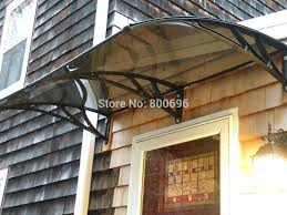 Patio Door Awnings Front Door Canopy Modern Style Patio Door Awnings With Awning