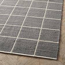 pebble rug origin pebble black and white rug