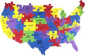 us map quiz puzzle united states map quiz not timed states puzzle map of