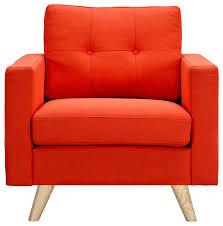 Orange Armchair Image Gallery Orange Armchair