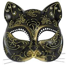 cat masquerade mask glitter gold scroll cat mask party city 10 kitties