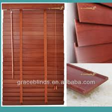 Wide Slat Venetian Blinds With Tapes Window Blinds With 50mm Basswood Slats Wide Ladder Tape Cord Lift