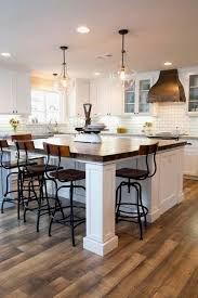 Kitchen With Two Islands Kitchen Island To Eat At Eat In Kitchen Island Designs Kitchens