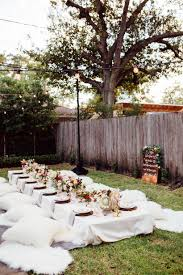 Backyard Parties A Bohemian Backyard Dinner Party Camille Styles