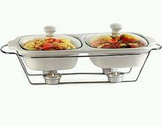 3 x 2qt triple buffet server and warming tray holiday wishlist