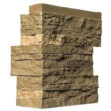stacked stone veneer stacked stone rio corners 10 lin ft handy