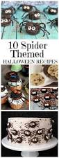 gourmet halloween chocolate 10 spider themed halloween recipes