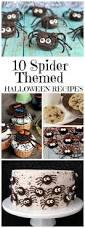 Gross Looking Halloween Food Recipes 10 Spider Themed Halloween Recipes