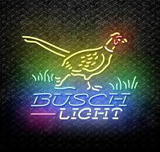 busch light neon sign busch light pheasant neon sign for sale neonstation