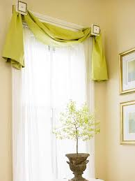 Lined Swag Curtains Window Treatment Styles Swag Fabric Strips And Window Frames
