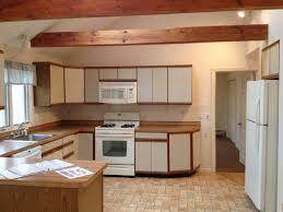 Kitchen Cabinets Formica Classy Brown Color Formica Kitchen Cabinets With Cream Color