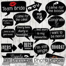 wedding photo props wedding photo booth props diy printable instant