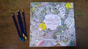 magical walk colouring pages