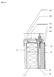 lexus is300 drawing patent us20080245007 gypsum wood fiber structural insulated