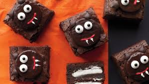 Halloween Decorations For Cakes by 13 Hauntingly Good Halloween Potluck Ideas Martha Stewart