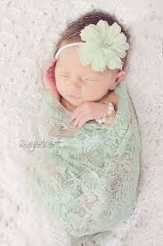 mint green headband personalized gray mint newborn girl take home gown