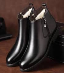 s boots with fur s fashion chelsea boots side zip fur lined