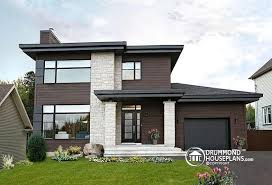 contemporary modern home plans w3713 v1 affordable contemporary modern home plan with family