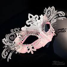 pink masquerade masks pink laser cut venetian mardi gras masquerade mask