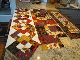 Fall Table Runners by Kayakquilting Table Runner Mania