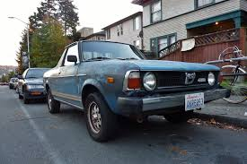 1978 subaru brat for sale seattle u0027s parked cars november 2014
