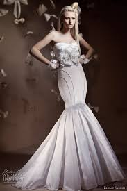 mermaid wedding dresses 2011 elihav sasson 2011 bridal collection bridal collection haute