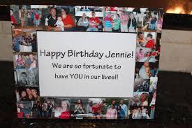 unique birthday gift personalized birthday frame custom birthday