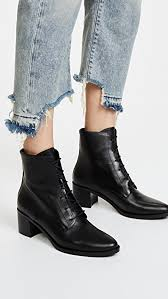 freda salvador freda salvador the ace lace up booties shopbop