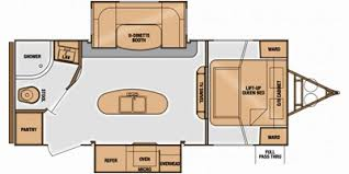 2014 cruiser rv fun finder series m 233 rbs specs and standard