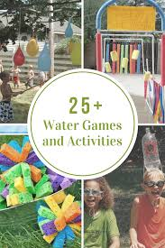 backyard water games home outdoor decoration