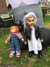 Chucky Halloween Costume Kids Bride Chucky Baby Halloween Costume
