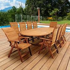 teak patio furniture outdoor seating u0026 dining for less