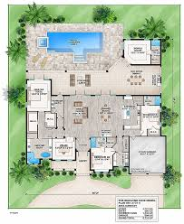 contemporary floor plan house plan new for corner lot house plans for