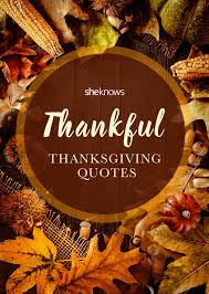 thanksgiving quotes to read around the dinner table this