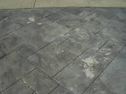 How To Fix Cracks In Concrete Patio by Stamped Concrete Sealing And Repair Toronto Gta Home