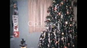 christmas scene 1960 vintage 8mm film royalty free video and