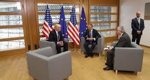 trump calls germans u0027bad u0027 but agrees eu trade plan