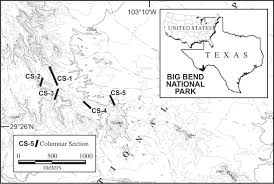 Big Bend National Park Map Paleogene Paleosols And Changes In Pedogenesis During The Initial