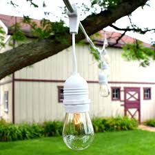 Patio String Lights Lowes Outdoor Patio String Lights Clear Globe Lowes