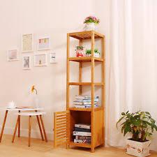 bamboo bathroom shelves ebay
