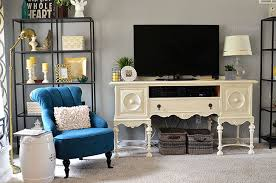Tv Bench Sideboard Tv Cabinet How To Decorate Around A Television