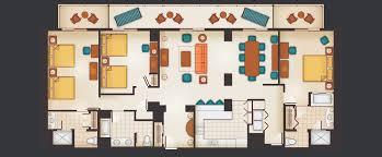 disney saratoga springs floor plan incredible ideas aulani 2 bedroom villa floor plan of a bedroom
