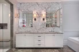 baroque medicine cabinet makeover contemporary bathroom
