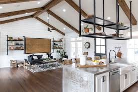 Pictures Of Kitchens With White Cabinets And Black Countertops Episode 16 The Little Shack On The Prairie Magnolia Market