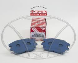 lexus rx300 australia new lexus rx300 2001 2002 2003 front factory toyota brake pads