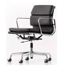 Vitra Boardroom Table Vitra Eames Soft Pad Executive Leather Chair Medium Back Ea217