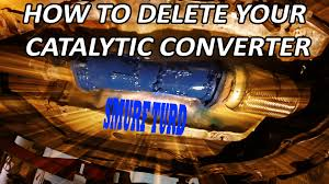 no check engine light how to delete your catalytic converter no check engine light youtube
